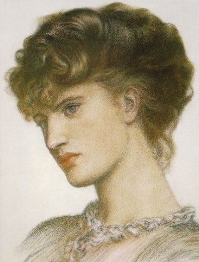 dante gabriel rossetti portrait of a lady paintings