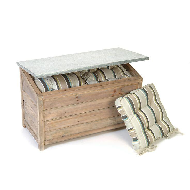 Discover the Garden Trading Outdoor Storage Box at Amara  sc 1 st  Pinterest & Best 25+ Outdoor storage boxes ideas on Pinterest | Storage box ... Aboutintivar.Com