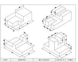 Best 25+ Isometric drawing exercises ideas on Pinterest