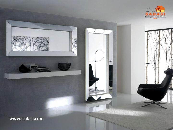 Decoracion las mejores casas de m xico los espejos for Espejos decorativos modernos