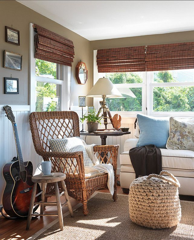 Bring The Shore Into Home With Beach Style Living Room: 119 Best Images About Sunroom On Pinterest