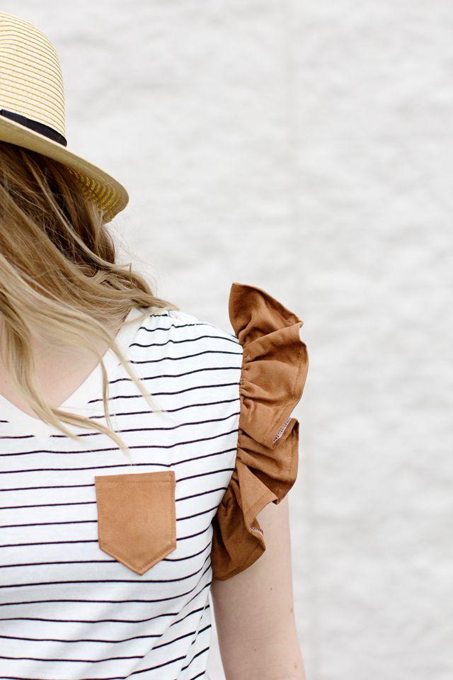 10 ways to refashion a t-shirt!