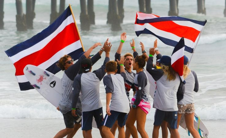 Costa Rica finishes eighth in World Junior Surfing Oct 2015 - Championship -The Tico Times