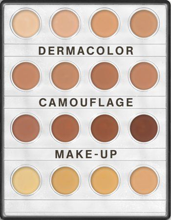Pin for Later: This Is All the Makeup You Need to Look Like Kim Kardashian Kryolan Dermacolor Camouflage System Concealer Palette Dermacolor Camouflage System Concealer Palette ($29)