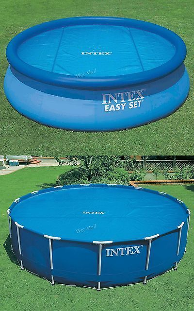 Pool Covers and Rollers 181068: Intex 16 Swimming Pool Solar Heating Cover Blanket For Above Ground Pools -> BUY IT NOW ONLY: $55.08 on eBay!
