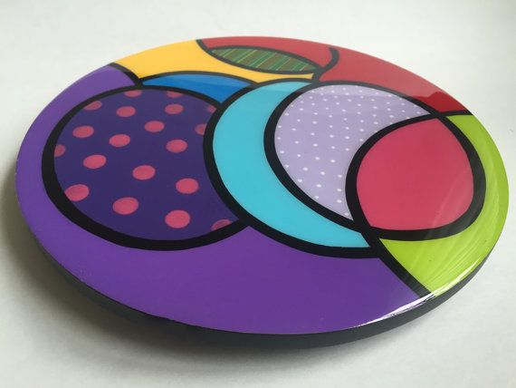 Hey, I found this really awesome Etsy listing at https://www.etsy.com/listing/253841114/lazy-susan-handmade-painted-wood-modern