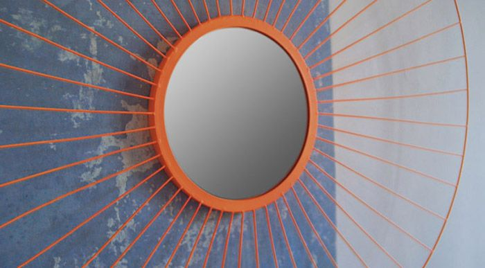 ORANGE PRIMP mirror by Gandia Blasco arrived at oikos