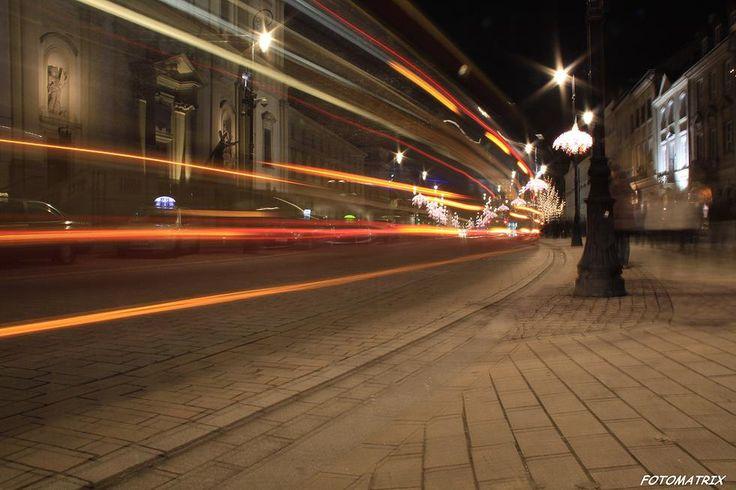 Agencja Fotomatrix - Warszawa nocą