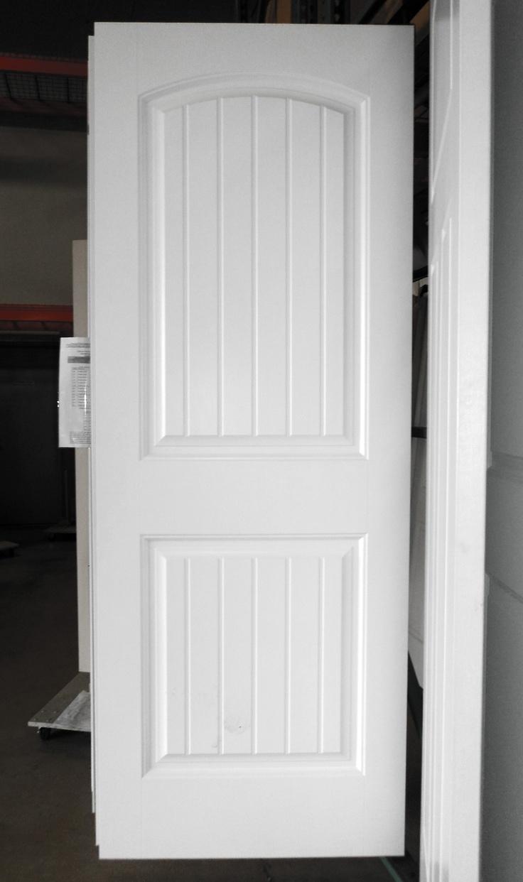 2 Panel Painted White Cheyenne Smooth Masonite Hollow Core Interior Door My Dream Home