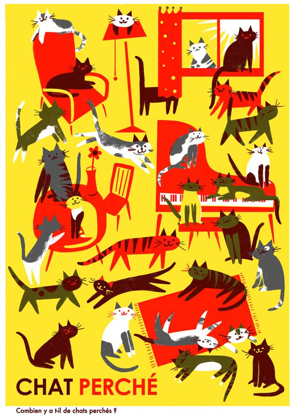 Playground Posters by Virginie Morgand, via Behance