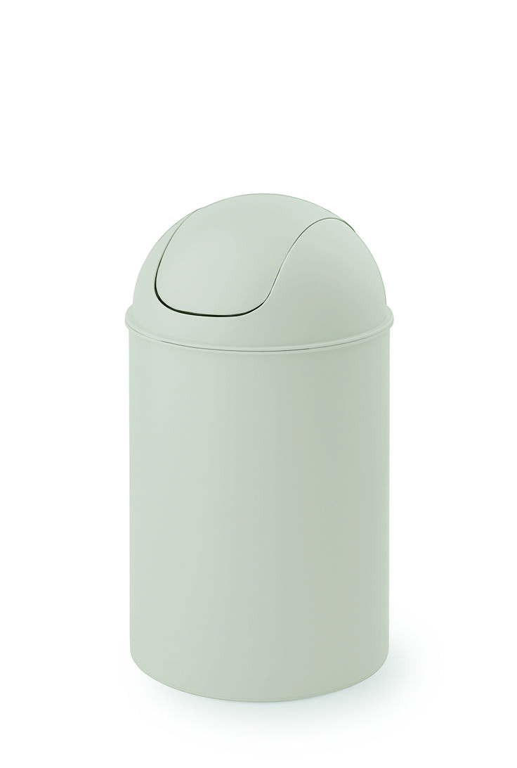CAN MIDI the swing lid waste bin CAN is the original that has been copied millions of times and fits in every room. Convenient for use in the office and the kitchen as well as in the food service / catering business.