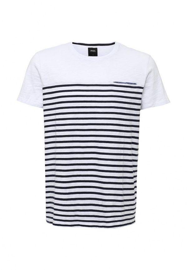 Футболка Burton Menswear London  Футболка Burton Menswear London. Цвет: белый.  Сезон: Весна-лето 2016. Одежда, обувь и аксессуары/Мужская одежда/Одежда/Футболки