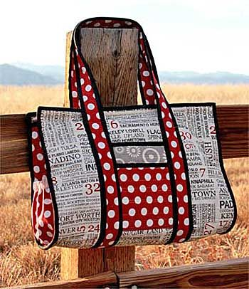 Sweet Retreats Little Sister Weekend Bag - ePattern to Sew by WhistlePig Creek Productions
