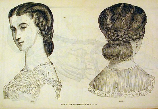 civil war hair styles 18 best images about 19th century postiche padding on 3898