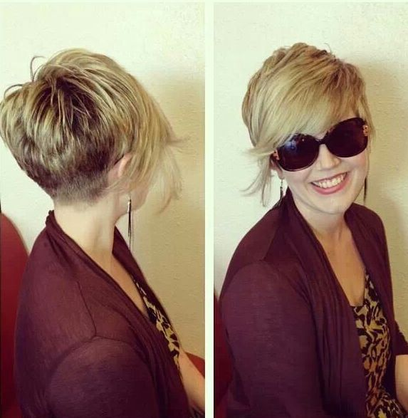 haircut shorter in back longer in front 1000 ideas about pixie back view on pixie 3675 | bb2bd3b6f91d1cc9239e291e7a5f08ea