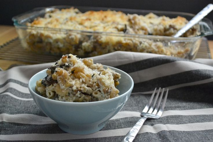 Stuffed Mushroom Mac n' Cheese {Via Foodie Heart}