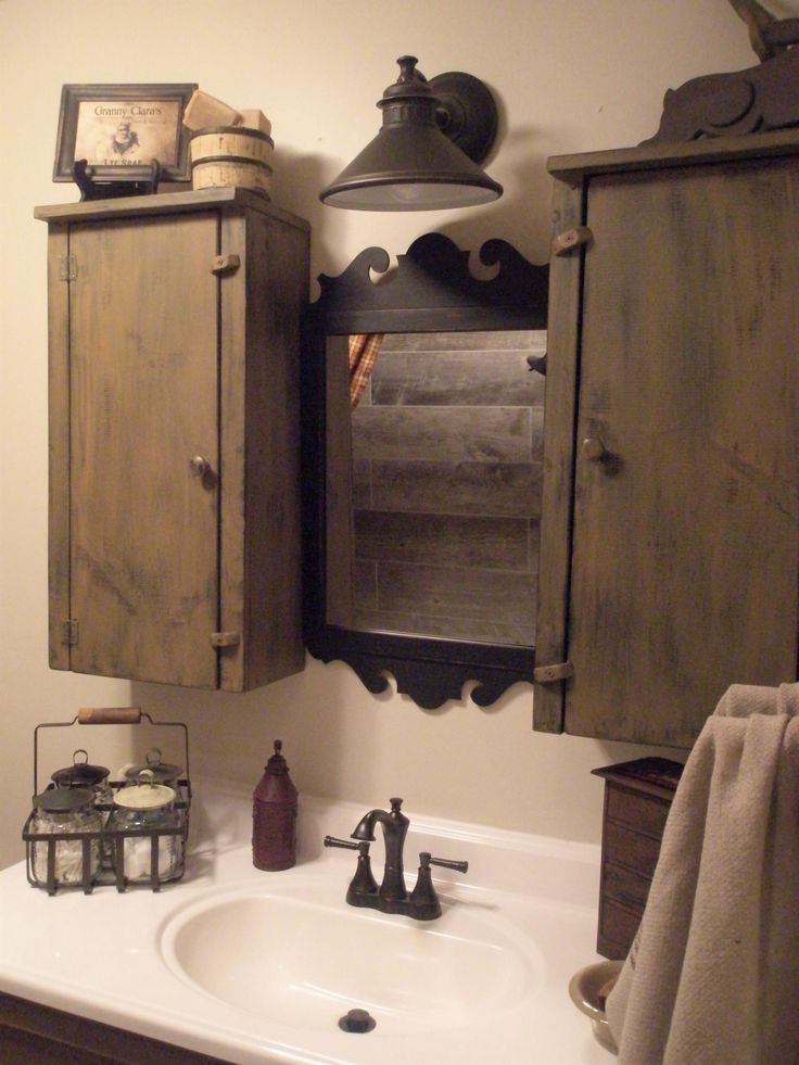 80 Best Primitive Bathrooms Images On Pinterest