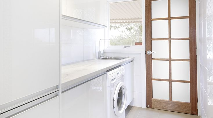 10 ways to maximise space in the laundry