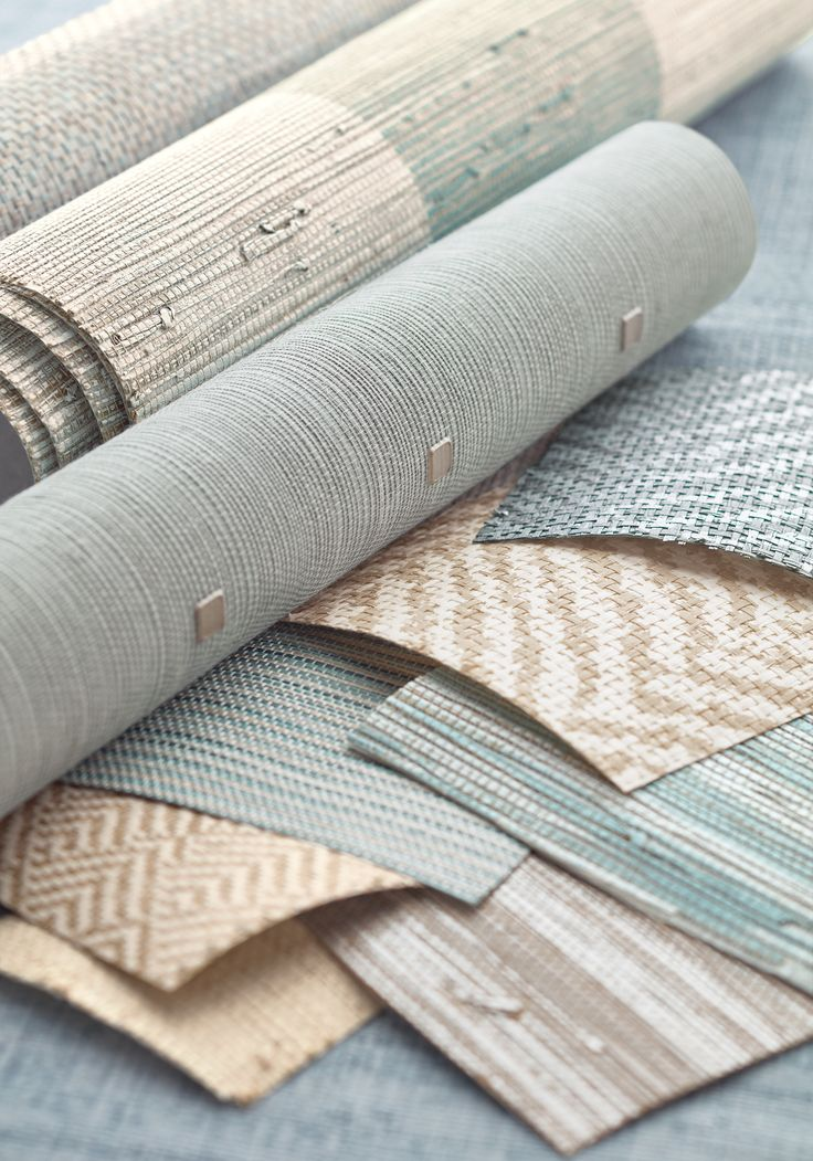 Aqua Group from Grasscloth Resource 4 Collection