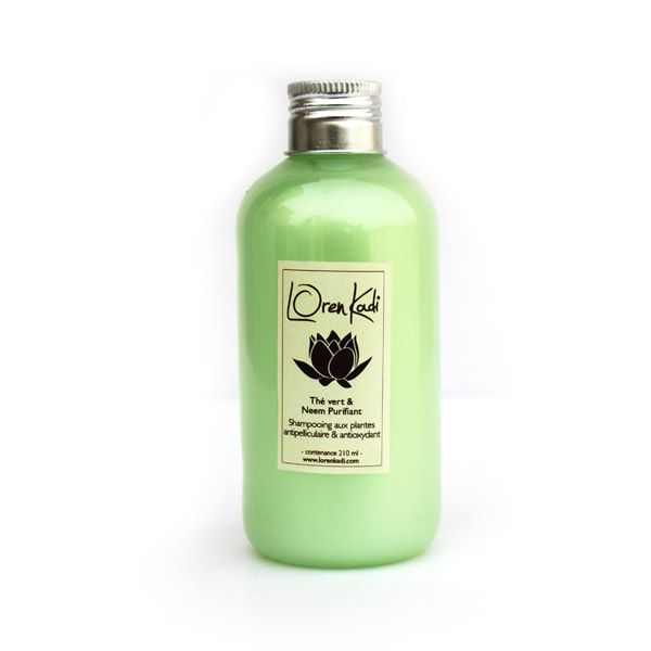 Shampooing Antipelliculaire Neem 210ml Pas De Shampooing