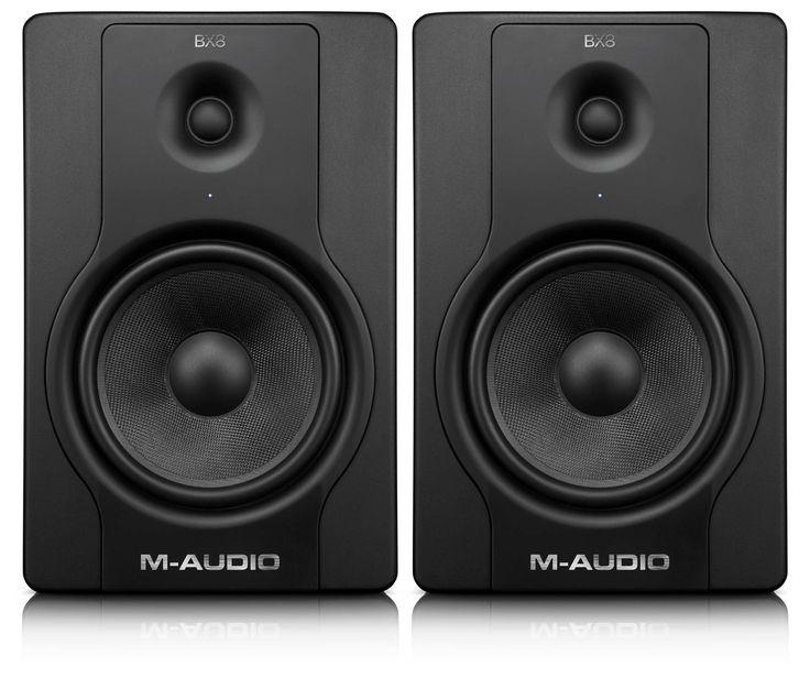 Купить Студийные мониторы M-AUDIO BX8 D2 (пара) с бесплатной доставкой по Москве и России в интернет – магазине Pop-music.ru