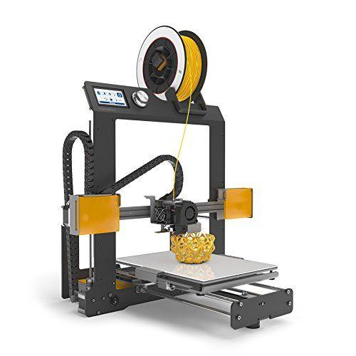 BQ Hephestos 2 - Impresora 3D BQ  Resolución máx. de capas 50 micras Velocidad máxima de impresión 200 mm/s Volumen de impresión 210 x 297 x 220 mm Montaje en 1 hora http://amzn.to/2je8MfM