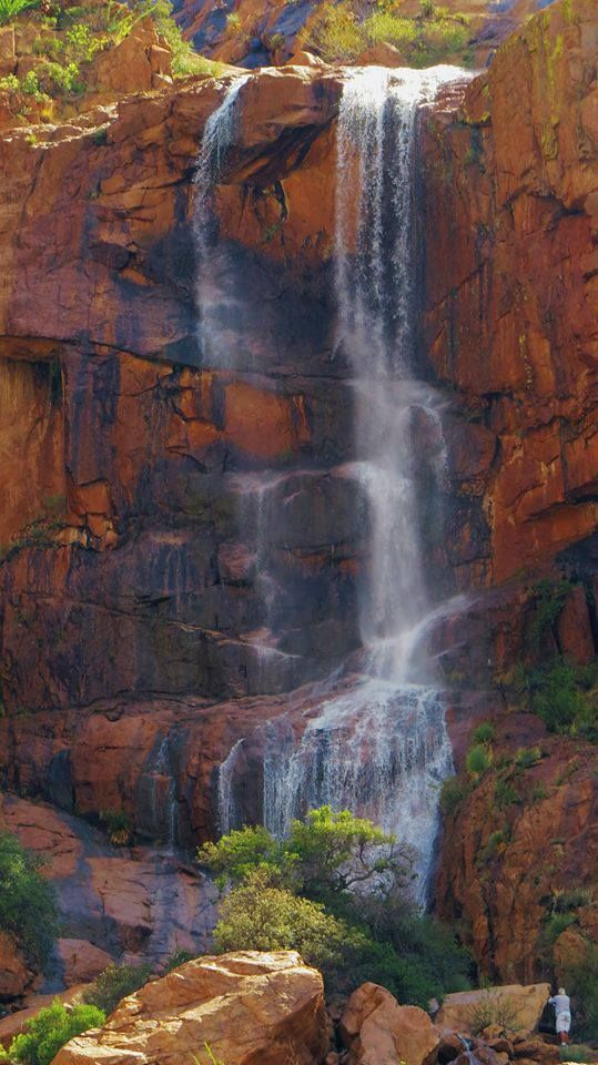 Gorgeous waterfall in Bisbee, AZ!