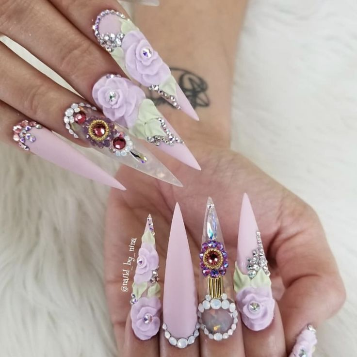 40 best Extreme Nail Designs images on Pinterest | 3d nails art ...