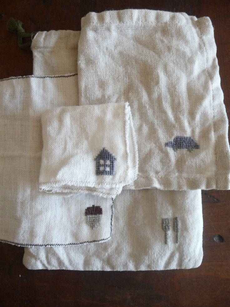 Tiny pocket chiefs for my son, washed so many times - Niwatoko