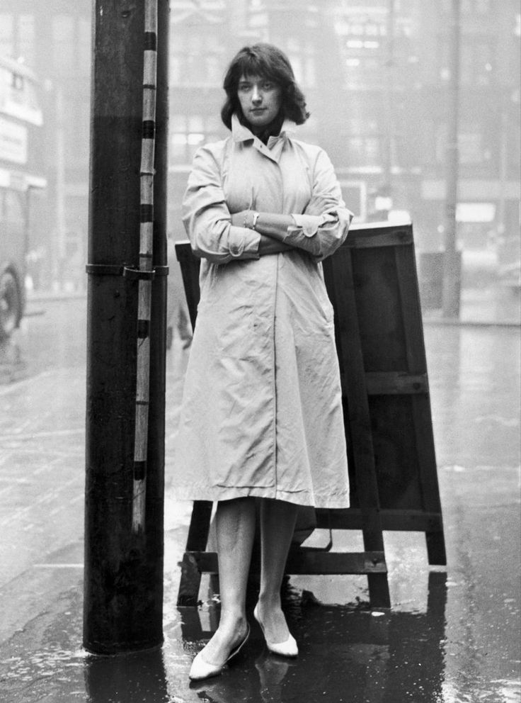 Salford born playwright Shelagh Delaney, pictured after a press conference reception prior to her new play The Lion In Love opening at the Palace Theatre, Manchester - September 1960.