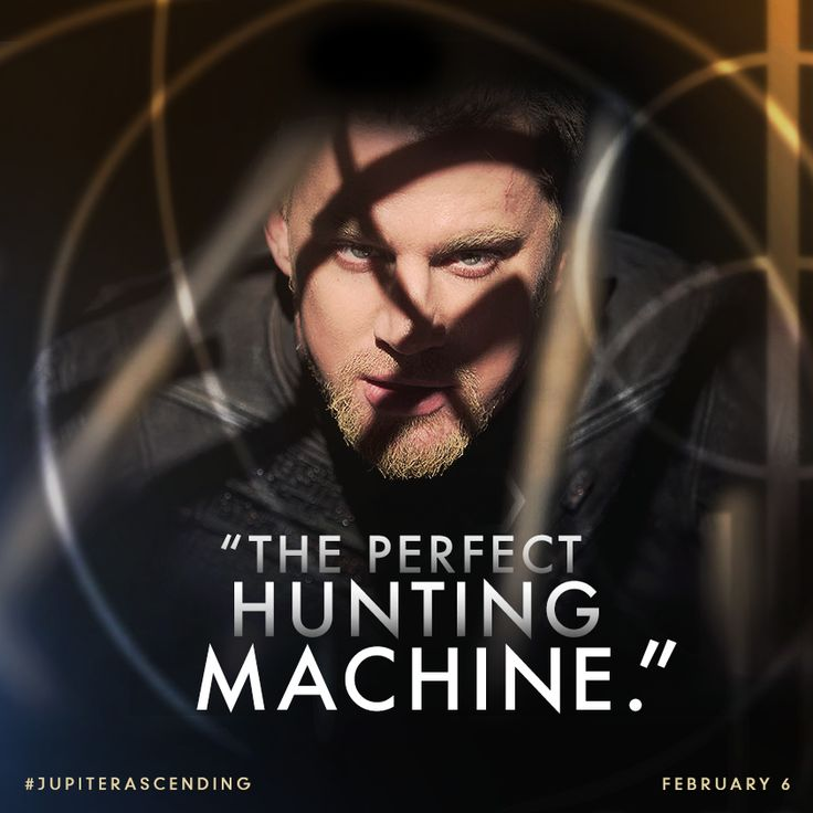 Fearless. Relentless. Don't miss Channing Tatum in #JupiterAscending this Friday.