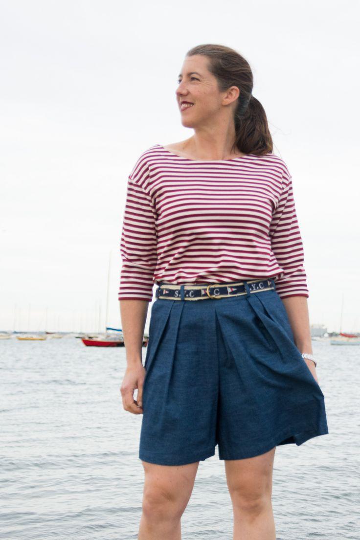 https://flic.kr/p/UHANgs   SoHo Shorts and Maritime Knit Top   More here: bartacksandsingletrack.blogspot.com.au/2017/05/soho-short...