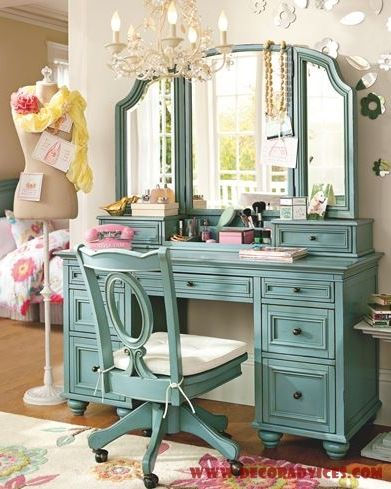 Sweet Bedroom Vanity With Mirror Glamorous Cly Gallery