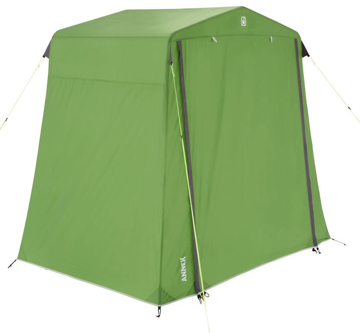 A utility tent that's very useful for storing your extra camping gear, to keep your campsite clutter-free.
