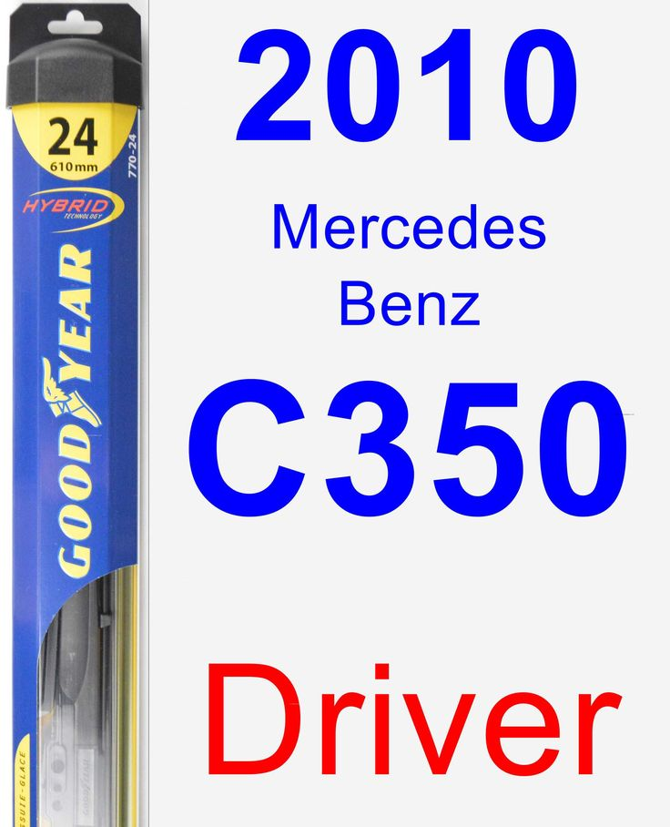 Driver Wiper Blade for 2010 Mercedes-Benz C350 - Hybrid