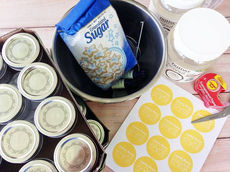 How To Make Sugar Scrubs As Shower Favors Or Gifts And