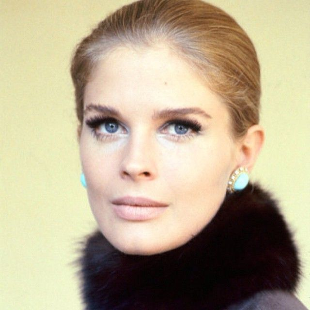 Michael leaned over at lunch and showed me this picture of Candice Bergen- what a beauty!