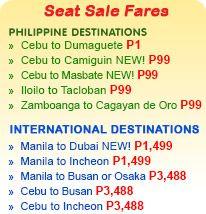 Piso fare from Cebu