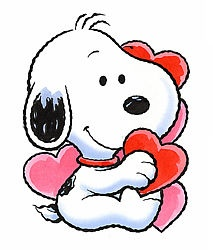 charlie brown valentine's day clip art