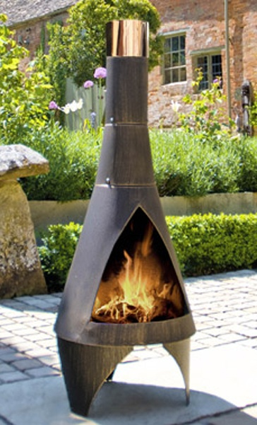how to build a bonfire in garden