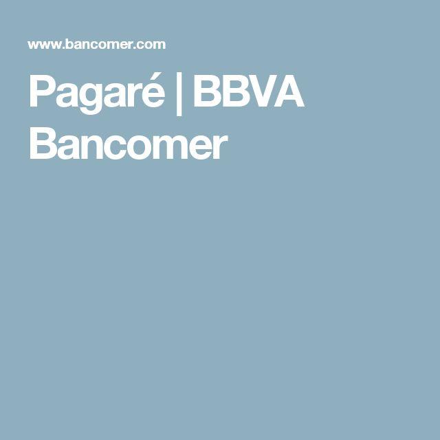 Pagaré | BBVA Bancomer