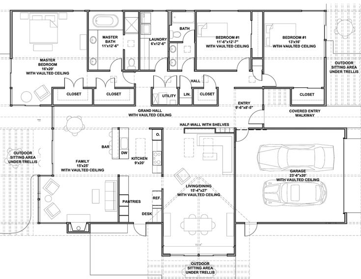 258 best House Plans images on Pinterest | Bed & bath, Square feet ...