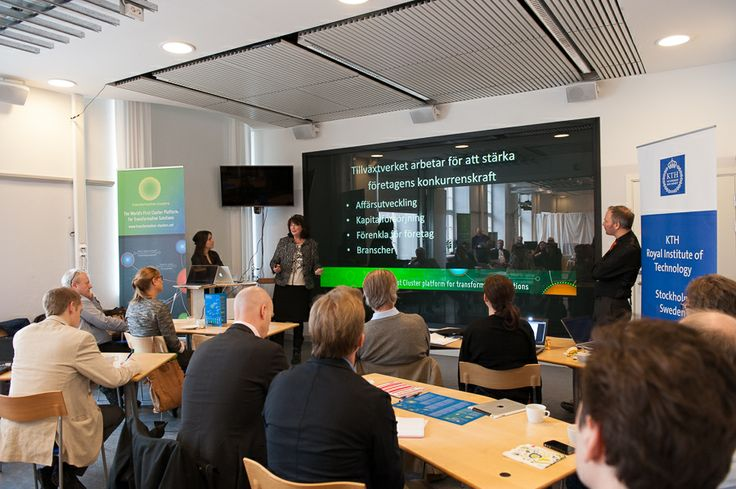 Lena Rooth, Tillväxtverket talks about the need for a new generation of entrepreneurs and a global export perspective.