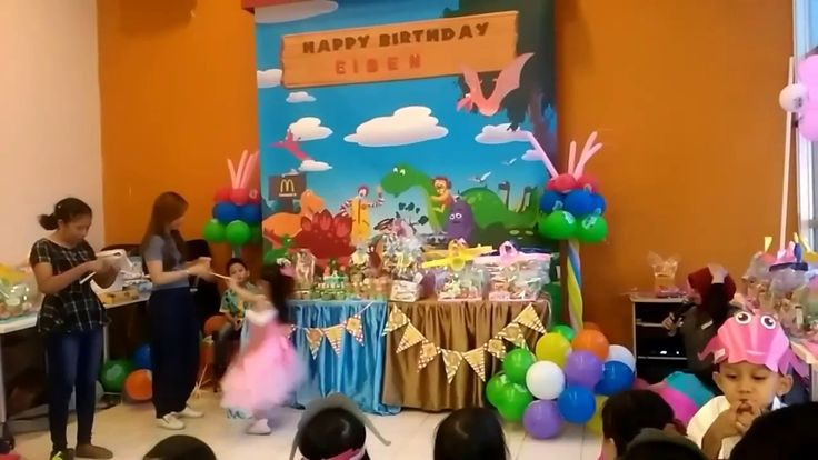 Permainan acara ulang tahun,lucu sekali
