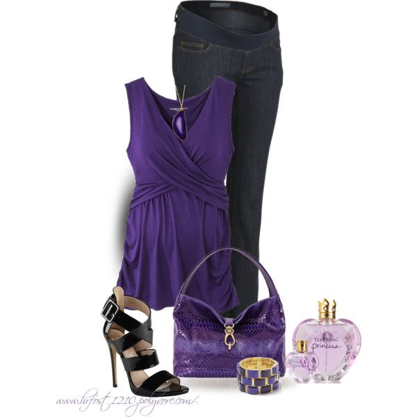 """""""* LIZ LANG Maternity Cami Top *"""" by hrfost1210 on Polyvore"""