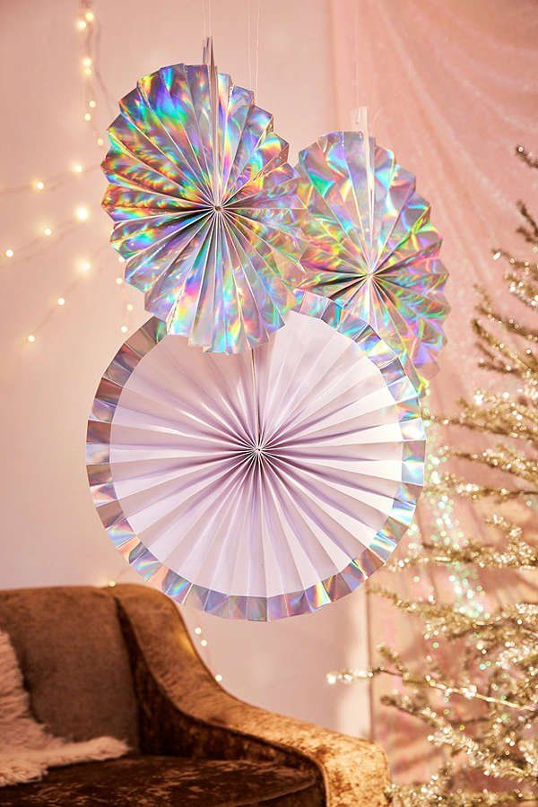 Ginger Ray Iridescent Pinwheel Party Decoration Set | New ...