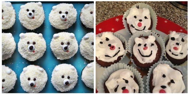 Estes ursinhos polares: | 19 fracassos na cozinha que só o Natal pode proporcionar
