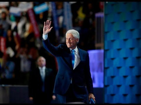 Watch Bill Clinton's full speech at the 2016 Democratic National Convention