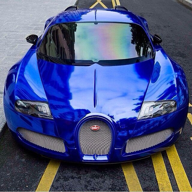 blue chrome bugatti veyron things on wheels pinterest blue bugatti vey. Black Bedroom Furniture Sets. Home Design Ideas