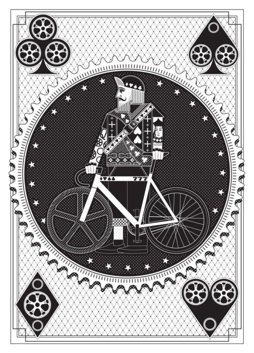 revolvingroundabout:  Artcrank: Interbike Screenprint by Nomo Design